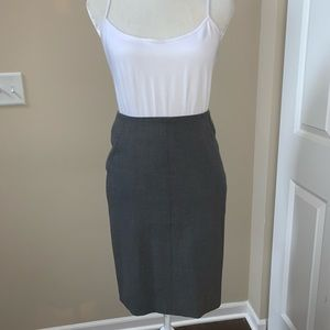 LOFT | Gray Pencil Skirt